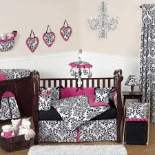 ... Cute Picture Of Black And White Baby Nursery Room Design And Decoration  Ideas : Exciting Picture ...