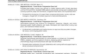 Astounding Entry Level Nurse Resume Sample Prepasaintdenis Com