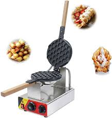 Professional eggette waffeleisen commercial electric eggette maker. Amazon Com Hanchen Electric Hong Kong Egg Waffle Maker Commercial Bubble Waffle Iron Non Stick Eggettes Iron Pan Making Plates For Bakery Home And Kitchen Restaurant Shopping Mall Snack Bar Ce Cake Size 7 1 8 3 0 9in 110v 60hz