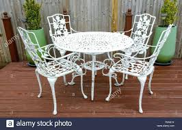 white iron patio furniture. White Iron Patio Furniture T