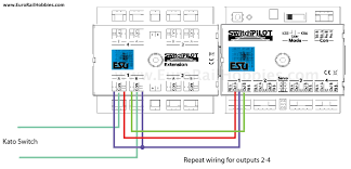 tortoise switch wiring diagram euro rail hobbies and more blog using esu switchpilots for bi bi polar single coil switch