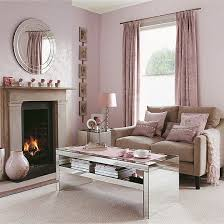 living room with mirrored furniture. Small Pink Living Room With Mirrored Furniture I