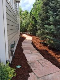 flagstone landscaping. GVL4-Arizona-Buff Flagstone Patio Landscaping