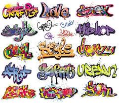 Graffiti Font Free Beautiful Graffiti Font Design 01 Vector Free Vector In