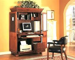 computer cabinet armoire corner