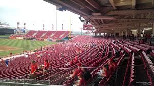 Shaded And Covered Seating At Great American Ball Park