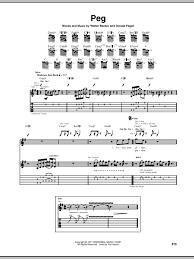 steely dan chord charts peg sheet music direct