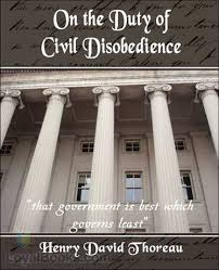 on the duty of civil disobedience by henry david thoreau at  on the duty of civil disobedience by henry david thoreau