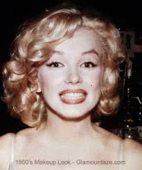 marilyn munroe 1950s makeup look