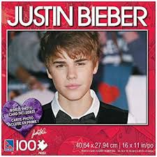 Small Picture Amazoncom Justin Bieber 100 Piece Jigsaw Puzzle Justin with