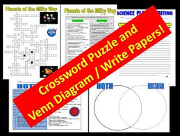 What Circles In A Venn Diagram Do Crossword Clue Planets Data Chart Worksheets Puzzle Projects
