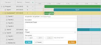 Gantt Chart Without Specific Dates Unscheduled Tasks Gantt Docs