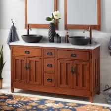 rustic double sink vanity. 60 Throughout Rustic Double Sink Vanity