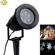 Commercial Snowfall Led Lights Outdoor Waterproof Garden Tree Moving Snow Laser Projector