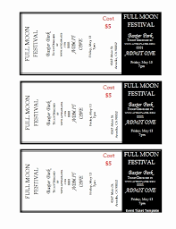 Avery Event Tickets Free Printable Tickets Template Of 7 Best Of Avery Printable