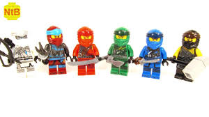 LEGO NINJAGO LEGACY 2 CUSTOM SUITS - YouTube
