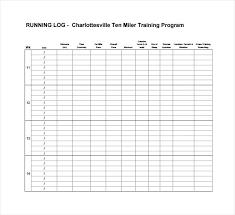 Printable Running Calendar Blank Vuthanews Info