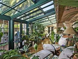 to turn a screened porch into a greenhouse