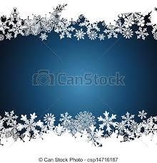 Christmas Border Snowflake Design Background