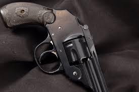 iver johnson model u s revolver co small frame hammerless top break black 3