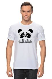 Футболка <b>классическая Printio Панда</b> (<b>Panda</b>) #1498639