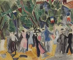 le bal by raoul dufy french 1877