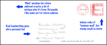 Direct Mail Advertisement Strategies Direct Mail Examples