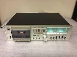 fisher cassette deck vintage fisher cr 5125 stereo cassette tape deck