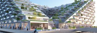 big and barcode architects unveil floating zero energy apartments for amsterdam