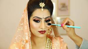 indian shimmery eyes makeup step by step bridal makeup for beginners hindi shruti arjun anand
