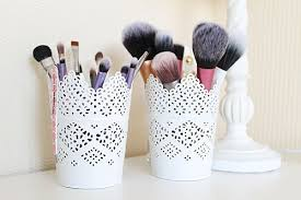 photo 13 photo 13 photo 13 photo 13 pretty makeup brush storage idea planters from ikea great ideas