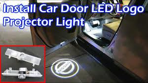 Ram Door Projector Lights Install Car Door Led Logo Projector Light Nissan Pathfinder