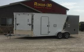 We also sell and service suzuki and yamaha products. 2021 Legend Explorer 23 3 Place Enclosed Inline Snowmobile Trailer Rollin On Trailer Sales Llc In Green Bay Wi