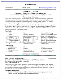 Knock Em Dead Resumes 1 Knock Em Dead General Counsel Resume Example. Sample