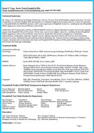 High Impact Database Administrator Resume To Get Noticed Database