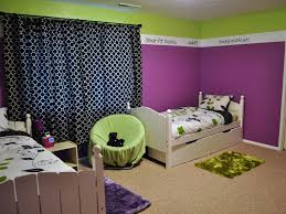 Green And Purple Room Rooms With Purple Walls Destroybmxcom