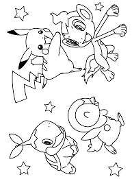 Small Picture Free Printable Coloring Pages Of Pokemon 17659 In Happy Birthday