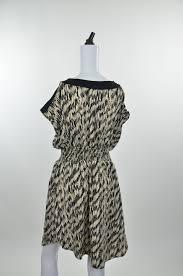 Cassees Womens Brown And Black Dress Size Xl Regular