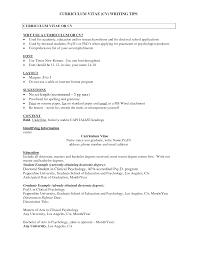 psychology resume samples