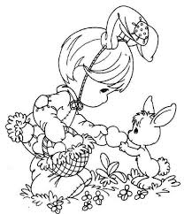 Free Easter Coloring Pages For Girls Easter Bunny Coloring Pages