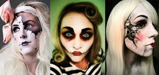 great scary doll make up looks ideas u trends for s with rag makeup