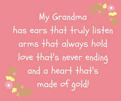 I Love You Grandma Quotes Simple Grandma Quotes Grandmother Sayings With Love