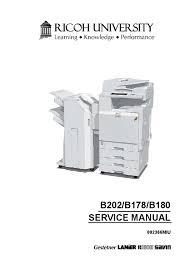 ricoh b b b c service manual image ricoh b202 b178 b180 3228c 3235 3245 service manual image scanner printer computing