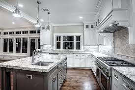 White Kitchen Gray Countertops And Decor Sasayukicom