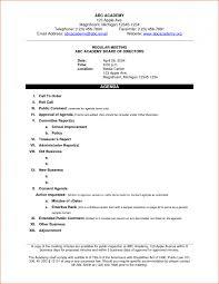 agenda of a meeting format 9 free sample basic meeting agenda templates printable samples