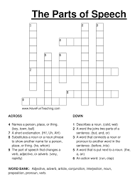 Crossword Puzzles | Have Fun Teaching