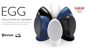 kef sound system. kef egg wireless speaker system. £349.00 kef sound system