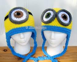 Minion Hat Crochet Pattern Adorable Crochet Pattern 48 Crochet Hat Pattern Minion Hat Ear Flap