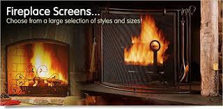 freestanding fireplace screens fireplaces plus has an extensive inventory of fireplace screens including flat panel 3 fold operational door