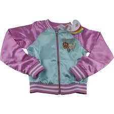 Details About Jojo Siwa Girls Lightweight Bomber Jacket Sz Xs S M